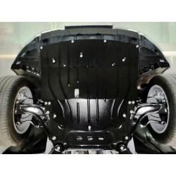 Защита двигателя 2.5 мм для Renault Kadjar 2016- Полигон-Авто