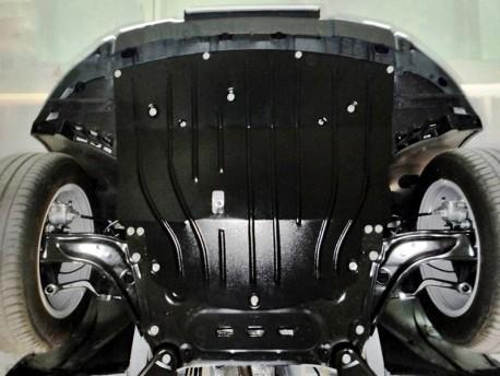 Фото Защита двигателя 2.5 мм для Renault Kadjar 2016- Полигон-Авто