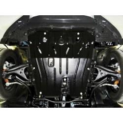 Защита двигателя 2.5 мм для Renault Sandero 2013- Полигон-Авто