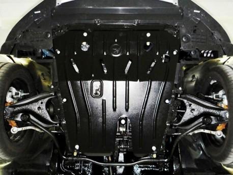 Фото Защита двигателя 2.5 мм для Renault Sandero 2013- Полигон-Авто