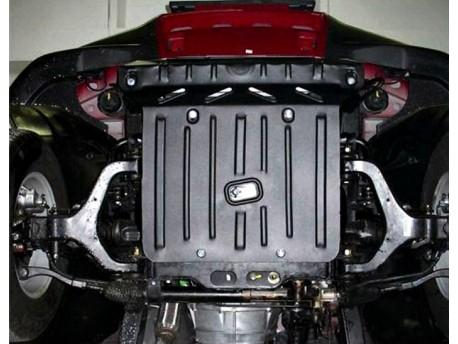 Фото Защита двигателя 2.5 мм для SsangYong Actyon 2006-2012 Полигон-Авто