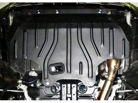 Фото Защита двигателя 2.5 мм для Subaru Forester 2013- Полигон-Авто