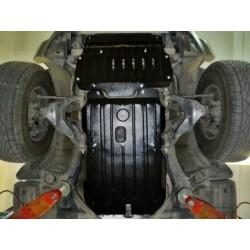 Защита двигателя 2.5 мм для Toyota FJ-Cruiser 2006- Полигон-Авто