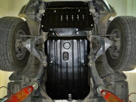 Фото Защита двигателя 2.5 мм для Toyota FJ-Cruiser 2006- Полигон-Авто