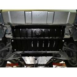 Защита радиатора 2.5 мм для Toyota FJ-Cruiser 2006- Полигон-Авто