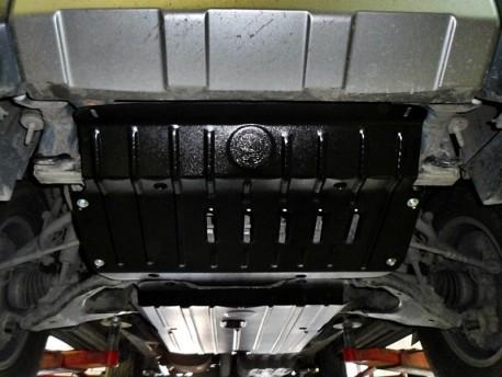 Фото Защита радиатора 2.5 мм для Toyota FJ-Cruiser 2006- Полигон-Авто