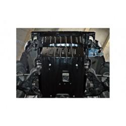 Защита двигателя 2.5 мм для Toyota Hilux 2005-2011 Полигон-Авто