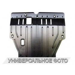 Защита двигателя 2.5 мм для Toyota Hilux 2011-2015 Полигон-Авто