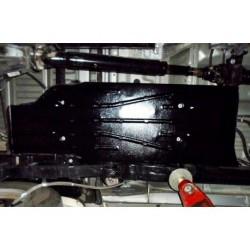 Защита топливного бака 2.5 мм для Toyota Hilux 2011-2015 Полигон-Авто