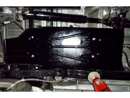 Фото Защита топливного бака 2.5 мм для Toyota Hilux 2011-2015 Полигон-Авто