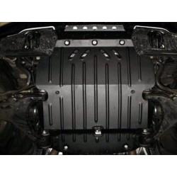 Защита двигателя 2 мм для Toyota Land Cruiser 200 2007-2015,15- Полигон-Авто