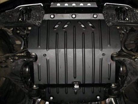 Фото Защита двигателя 2 мм для Toyota Land Cruiser 200 2007-2015,15- Полигон-Авто