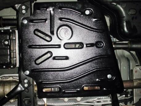 Фото Защита раздатки 2.5 мм для Toyota Land Cruiser Prado 2002-2013,13- Полигон-Авто