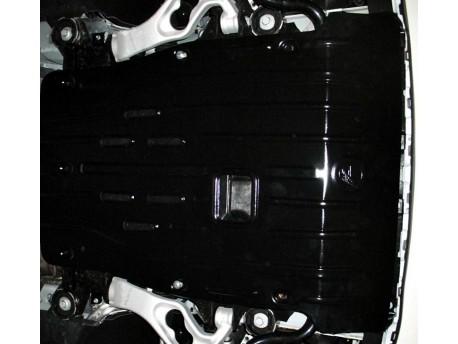 Фото Защита двигателя 2.5 мм для Volkswagen Touareg 2002-2010,10- Полигон-Авто