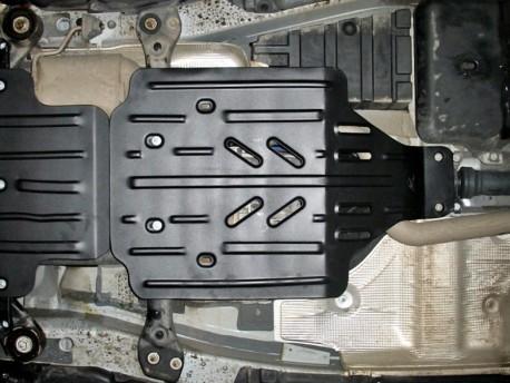 Фото Защита раздатки 2 мм для Volkswagen Touareg 2002-2010,10- Полигон-Авто