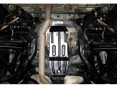 Фото Защита дифференциала 2.5 мм для Volkswagen Touareg 2002-2010,10- Полигон-Авто