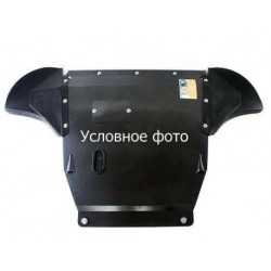 Защита радиатора Ford Ranger 2011-2015, 16- V-2,2TDI, 3,2 TD Кольчуга