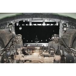 Защита радиатора 2.5 мм для Nissan Navara 2005-2014 Полигон-Авто