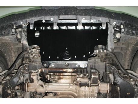 Фото Защита радиатора 2.5 мм для Nissan Navara 2005-2014 Полигон-Авто
