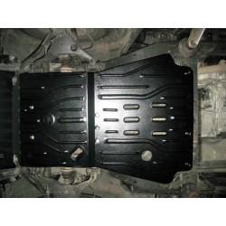 Защита двигателя 2 мм для Nissan Navara 2005-2014 Полигон-Авто