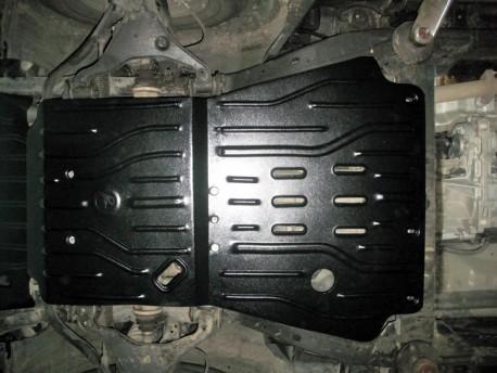 Фото Защита двигателя 2 мм для Nissan Navara 2005-2014 Полигон-Авто