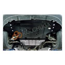 Защита картера, КПП Audi A4 2001-2004 передний привод Кольчуга