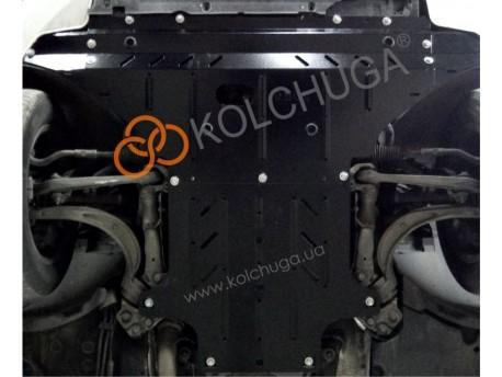 Фото Защита картера, КПП Audi A4 2007-2015 Кольчуга