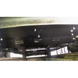 Защита двигателя Renault Trafic 2001-2014 увеличенная Титан