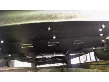 Фото Защита двигателя Renault Trafic 2001-2014 увеличенная Титан