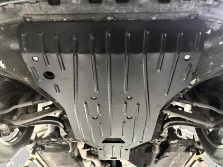 Фото Защита двигателя 2.5 мм для Audi Q7 2015- Полигон-Авто
