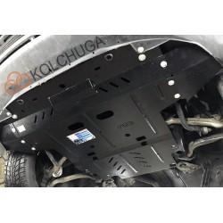 Защита двигателя Audi A4 2001-2004 Кольчуга